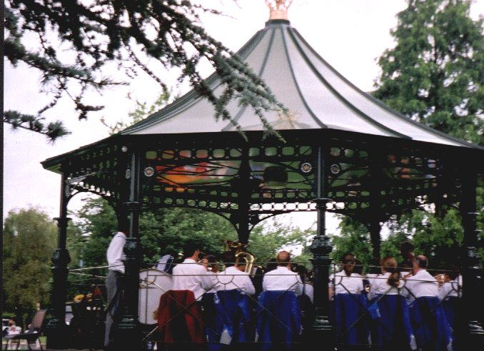 band-stand